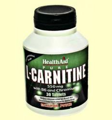 L-Carnitina amb Vitamina B6 + Crom - Health Aid - 30 comprimits