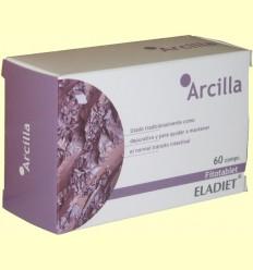 Argila Fitotablet - Eladiet - 60 comprimits de 450 mg