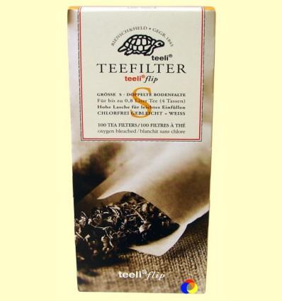Filtres de Te Extra Fins - Teeli - 100 filtres mida S