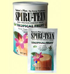 Spiru tein - Fruites Tropicals - Nature 's Plus - 34 grams