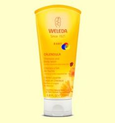 Xampú i Gel de dutxa de Calèndula - Weleda - 200 ml