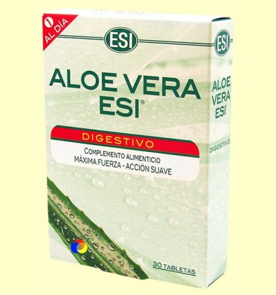 Aloe Vera Digestiu - Laboratoris ESI - 30 tabletes