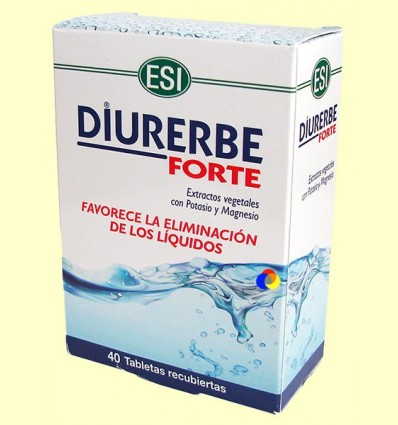 Diurerbe Forte tauletes - Laboratoris ESI - 40 tabletes