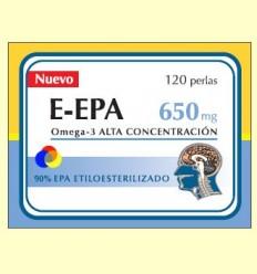 E-EPA - Omega-3 amb 90% d'EPA 650 mg - Dieticlar - 120 perles