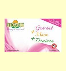 Fitomed Fórmula Sexe - Guaraná + Maca + Damiana - Dieticlar - 20 ampolles