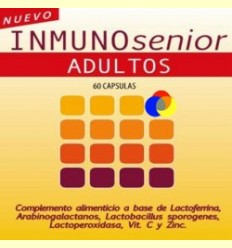 Inmunosenior Adults - Defenses - Dieticlar - 60 càpsules