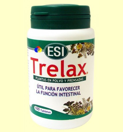 Trelax - Equilibri Intestinal - Laboratoris ESI - 100 tabletes