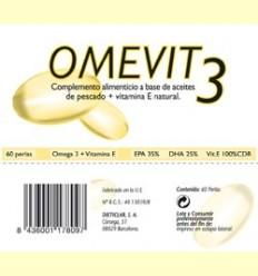 Omevit - 60% d'Omega-3 + Vitamina E - Dieticlar - 60 perles