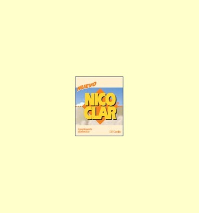 Nico-Clar - Deixar de fumar - Dieticlar - 120 càpsules