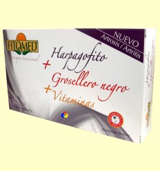 Fitomed Harpagofit + groseller negre + vitamines - Dieticlar - 20 ampolles