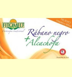 Fitomed HB - Rave negre + carxofa - Dieticlar - 20 ampolles