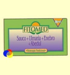 Fitomed R - Saüc + Ulmaria + Ginebre + Bedoll - Dieticlar - 20 ampolles