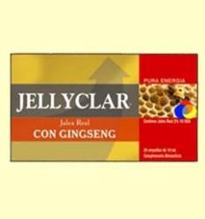 Gelea Reial amb Ginseng Jellyclar - Gelea Reial 2% 10 HDA - Dieticlar - 20 ampolles