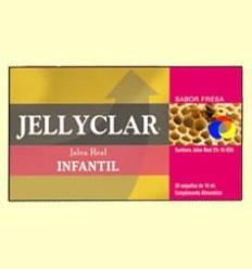 Gelea Reial Infantil + Lactoferrina Jellyclar - Gelea Reial 2% 10 HDA- Dieticlar - 20 ampolles