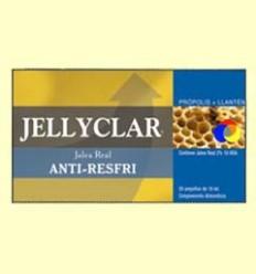 Gelea Reial Anti-Resfri Jellyclar - Gelea Reial 2% 10 HDA - Dieticlar - 20 ampolles *