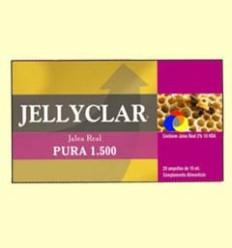 Gelea Reial Pura 1500 mg Jellyclar - Gelea Reial 2% 10 HDA - Dieticlar - 20 ampolles