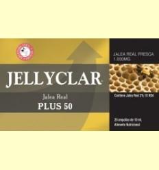 Gelea Reial Plus 50 Jellyclar - Gelea Reial 2% 10 HDA - Dieticlar - 20 ampolles