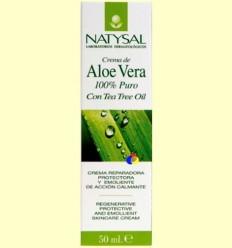 Crema d'Aloe Vera 100% Pur - Natysal - 50 ml