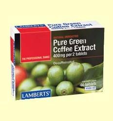 Extracte de Cafè Verd Pur - Lamberts - 60 tabletes