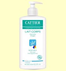 Llet Hidratant modeladora Bio - Cattier - 500 ml