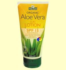Loció Solar Aloe Vera Eco FPS 15 - Evicro Madal Bal - 200 ml