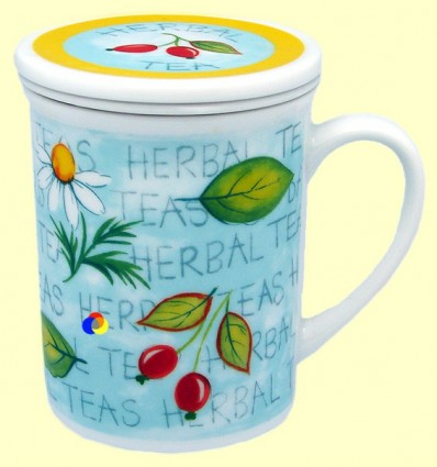Tassa per infusions amb filtre - Gallery by Inhesion - Herbal Tea Cireres