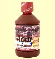 Suc de Acaí enriquit amb Oxy3 - Evicro Madal Bal - 500 ml