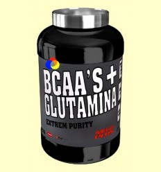 BCAAs + Glutamina Extrem Purity - Mandarina i Llimona - Mega Plus - 300 grams