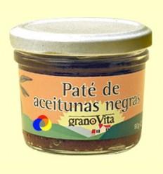 Paté d'Olives Negres - Granovita - 90 grams