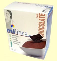 La meva línia - Substitutiu menjar gust xocolata - Soria Natural - 6 sobres