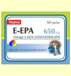 E-EPA - Omega-3 amb 90% d'EPA 650 mg - Dieticlar - 60 perles