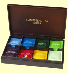 Caixa de Fusta per presentar Tes i Infusions - Hampstead Tea London