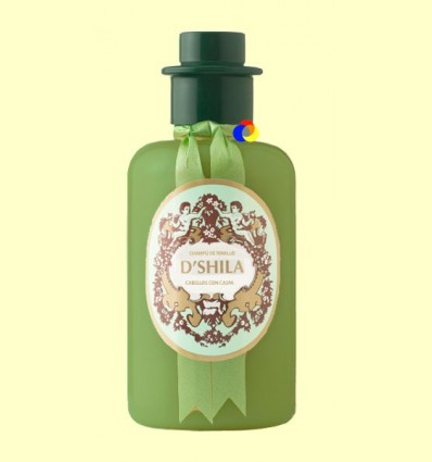 Xampú de Farigola - Anti Caspa - D'Shila - 300 ml