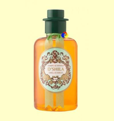 Xampú de Taronja - Cabells febles - D'Shila - 300 ml