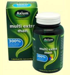 Multi Extra Man - Complex vitamínic - Axium - 60 perles