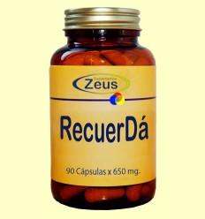 Recuer Da - Ajuda per a la Memòria - Zeus Suplements - 90 càpsules *