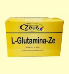 L-Glutamina Ze - Zeus Suplements - 30 sobres