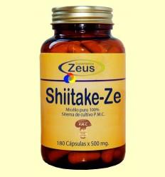 Shiitake Ze - Colesterol - Zeus Suplements - 180 càpsules