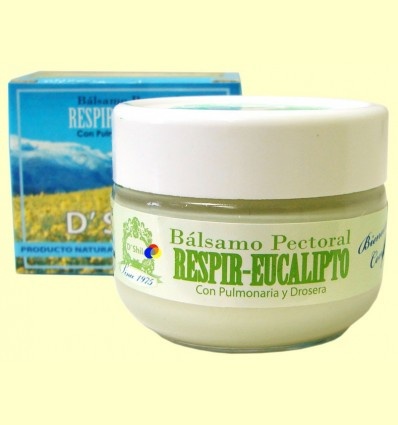 Bàlsam Pectoral Respir Eucaliptus - D'Shila - 50 ml