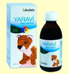 Yaraví Baby Apetite - Xarop infantil - derbós - 250 ml